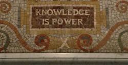 """""""Conhecimento é poder"""""""