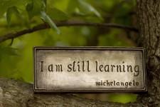 Eu continuo aprendendo